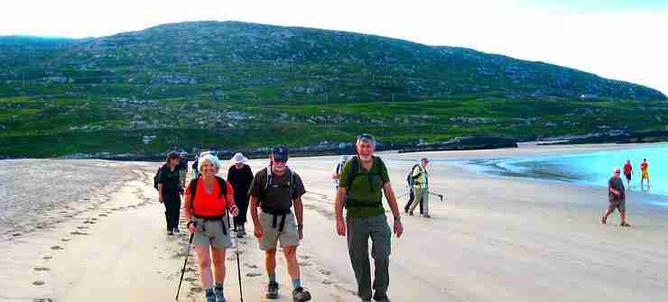 Walking 15 day tour round Ireland