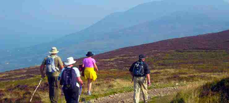 Walking 8 day tour Ireland north