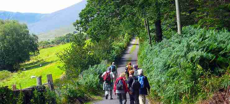 Walking 8 day tour Ireland south