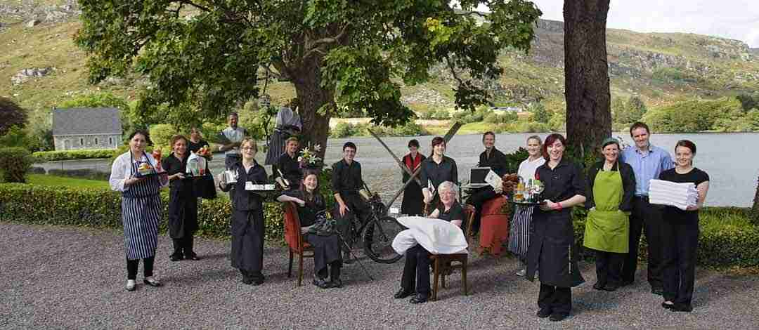 Staff at Gougane Barra Hotel