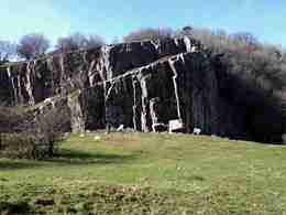 Black Rock, Cheddar Gorge, Somerset