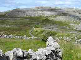 Burren hills