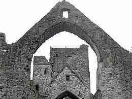 Carlingford: ruins
