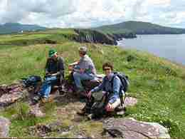 Walk the coast path to Dingle Town