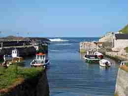 Dunseverick Harbour