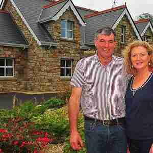 Geraldine and Michael Gibbons, Yeat's Lodge, Sligo