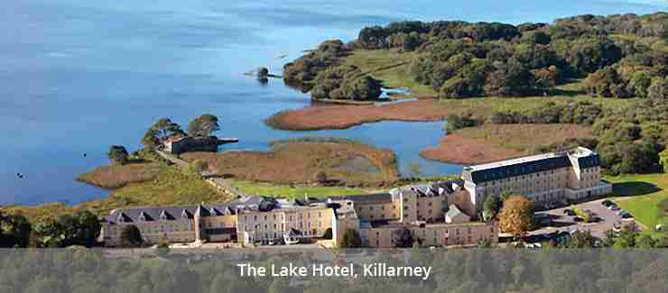 Aerial View of the Lake Hotel, Killarney