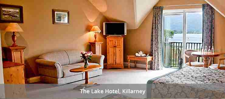 Room at the Lake Hotel, Killarney