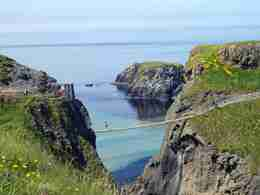 Carrick a Rede Rope Bridge - North of Ireland Hiking Tour