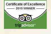 Trip Advisor 2014 Winner
