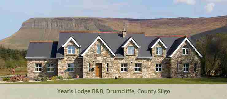 Yeat's Lodge B&B, Drumcliff, County Sligo