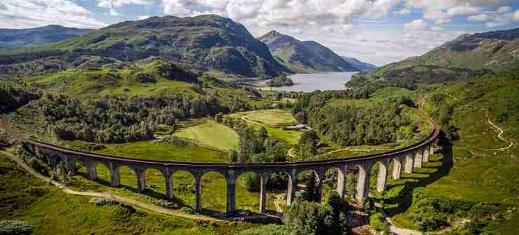 Highlands and Islands of Scotland - Scotland Highlands Tour - Glenfinnan Viaduct