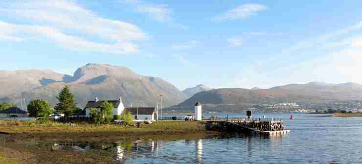 Highlands and Islands of Scotland - Scotland Highlands Tour - Ben Nevis from Train