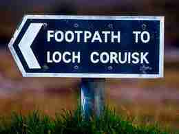 Loch Coruisk - Sign
