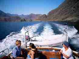 Tourists in Boat - Scotland Highland Tour