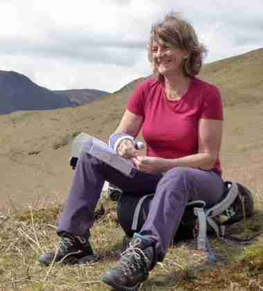 Lesley Bryce, Guide, Scotland and the Lake District