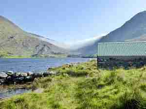 Lough Bryn, a serene lake on the Kerry Way